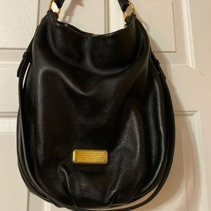 Marc by Marc Jacobs Hobo Black Leather